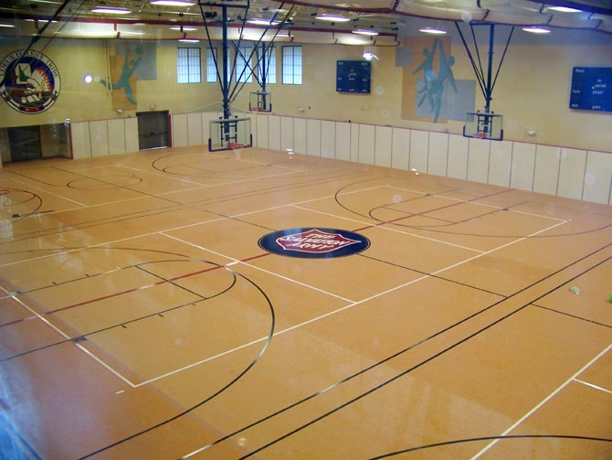 Synthetic Gym Flooring Northern Hardwood Company
